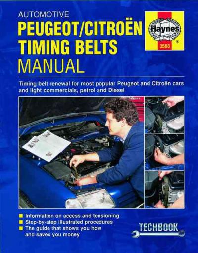 Automotive Timing Belts Manual Peugeot Citroen    UK