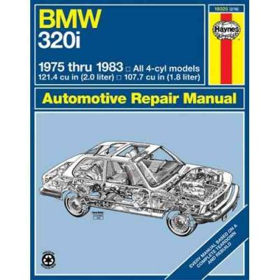 BMW 320i 1975 1983 Haynes Service Repair Manual
