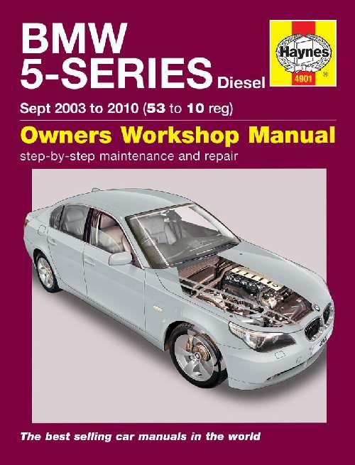 BMW 5 series Service and Repair manual Haynes 2003-2010