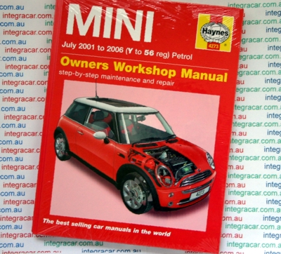 mini service and repair manual haynes 2001 2006 new. Black Bedroom Furniture Sets. Home Design Ideas