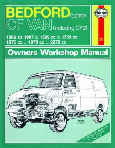 Bedford CF Petrol 1969 1987 Haynes Service Repair Manual UK
