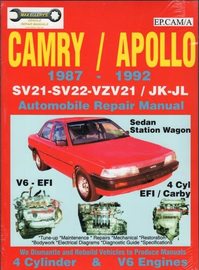 manual toyota camry 1992 español gratis