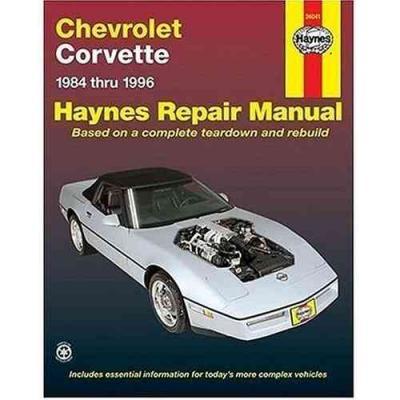 chevrolet corvette 1984 1996 haynes service repair manual sagin workshop car manuals repair haynes manual mazdaspeed 3 6 Mg