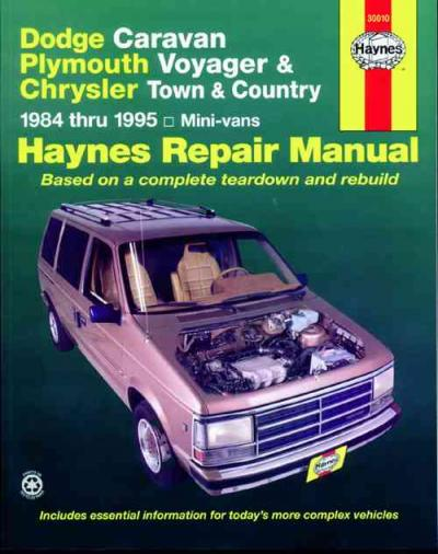Chrysler Town Country 1984 1995 Haynes Service Repair