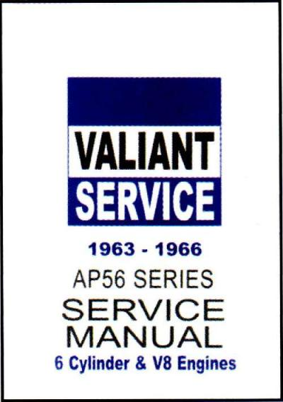 Chrysler Valiant AP5 AP6 1963 1966 Service Manual