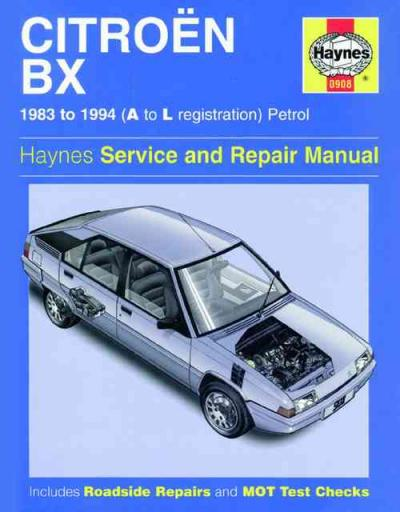 citroen bx petrol 1983 1994 haynes service repair manual uk sagin workshop car manuals repair Citroen BX Interior Citroen DS Interior