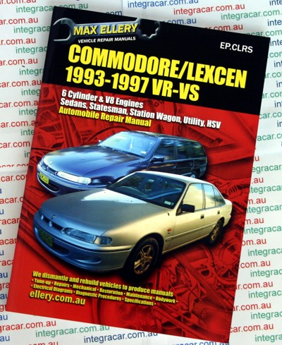 holden commodore vr vs lexcen repair manual 1993 1997 ellery rh workshoprepairmanual com au vn commodore owners manual vr commodore owners manual pdf