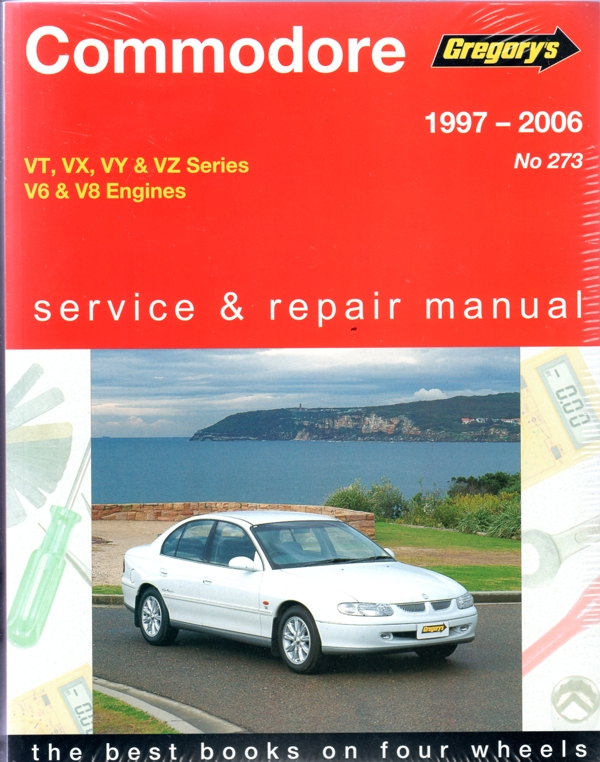 holden commodore vt vx vy vz series 1997 2006 gregorys manual rh workshoprepairmanual com au 2004 Commodore ve commodore workshop manual free download