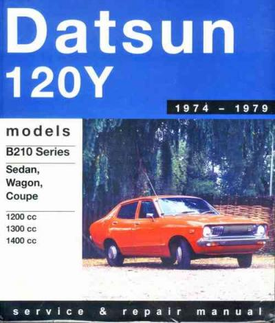 Datsun 120Y 1974 1979 Gregorys Service Repair Manual