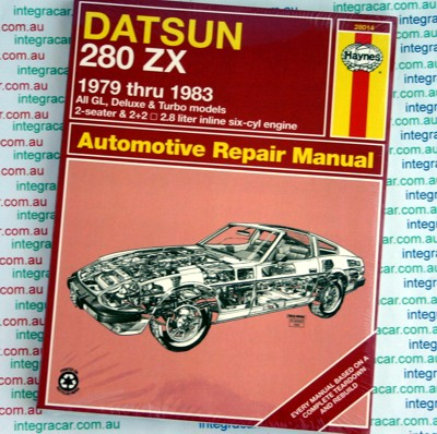 Datsun 280ZX 1979 1983 Haynes Service Repair Manual