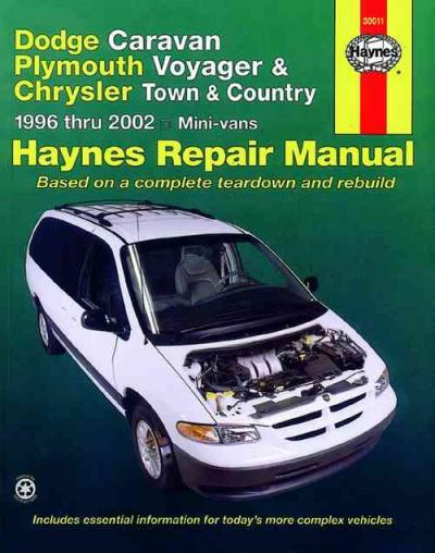 Dodge Caravan 1996 2002 Haynes Service Repair Manual