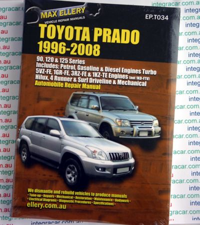Ellery Toyota Prado 1996 2008 repair manual toyota prado 1998 repair manual 100 images toyota land cruiser toyota prado 120 wiring diagram pdf at honlapkeszites.co