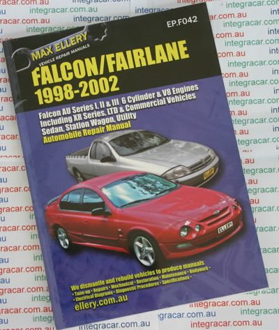 ford falcon fairlane au series  repair manual ellery