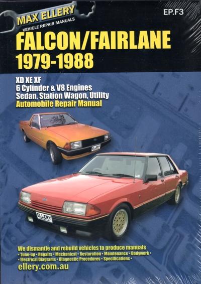 ford falcon fairlane xd xe xf repair manual 1979
