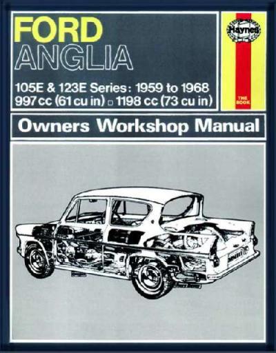 ford anglia 1959 1968 haynes service repair manual