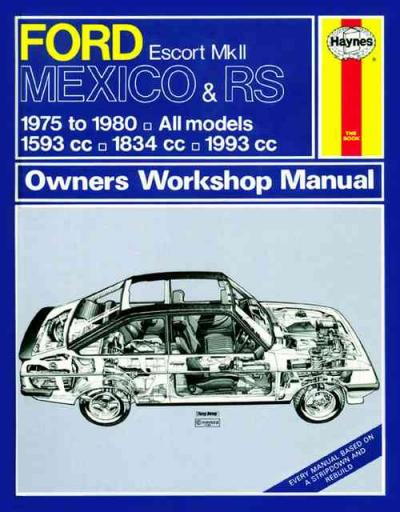 special car repair manual ford escort repair manual online