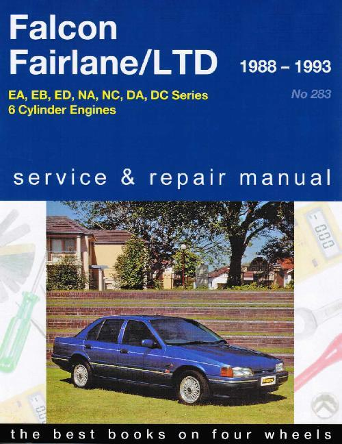 Ford Falcon Fairlane LTD Ute Van EA EB ED LTD 1988 1995 ... on