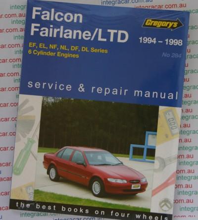 ford falcon fairlane ltd 1994 1998 gregorys service repair. Black Bedroom Furniture Sets. Home Design Ideas