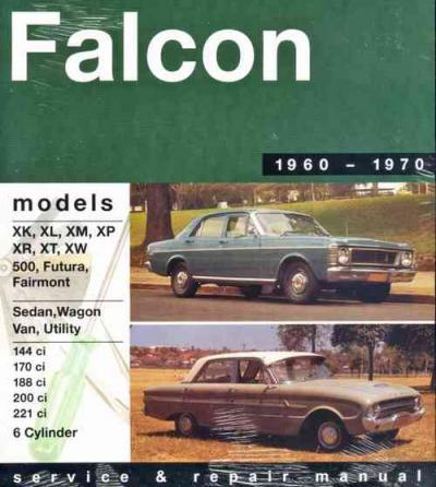 Ford Falcon XK XW 6 cylinder 1960 1970 Gregorys Service Repair Manual