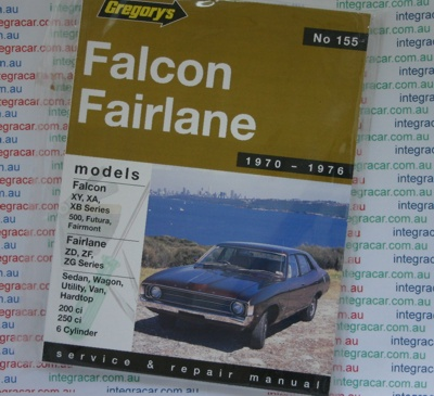 1999 au falcon workshop manual