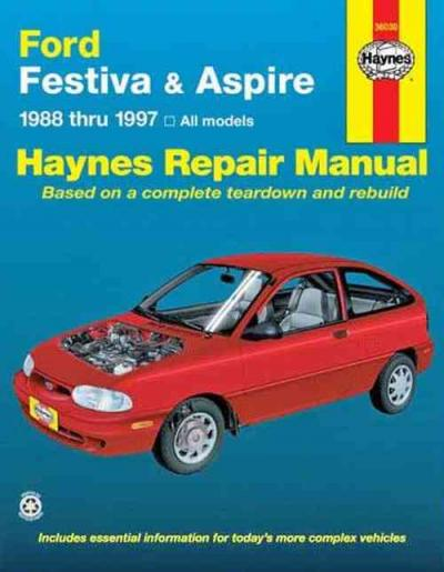 Ford Festiva Aspire 1988 1997 Haynes Service Repair Manual