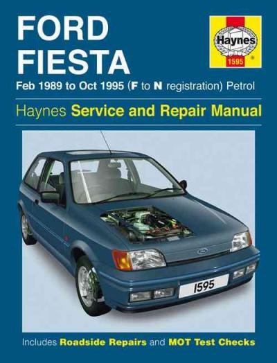 ford fiesta petrol 1989 1995 haynes service repair manual. Black Bedroom Furniture Sets. Home Design Ideas