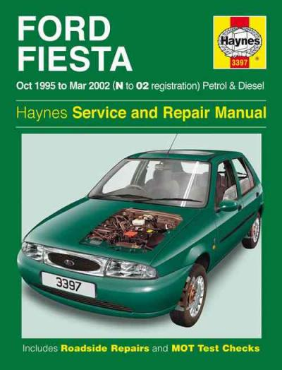 ford fiesta petrol and diesel 1995 2002 haynes service. Black Bedroom Furniture Sets. Home Design Ideas