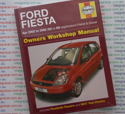 ford fiesta petrol diesel 2002 2008 haynes workshop manual. Black Bedroom Furniture Sets. Home Design Ideas