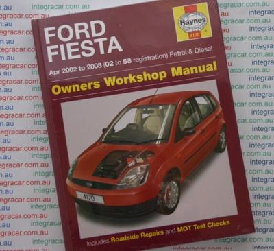 ford fiesta petrol diesel   haynes workshop manual