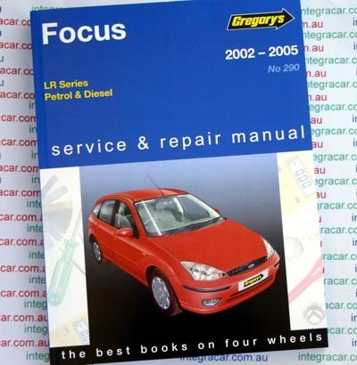 ford focus lr series petrol diesel   gregorys