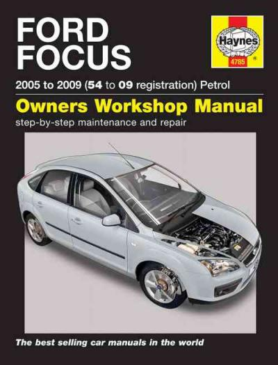 Ford Focus Petrol 2005-2009 Haynes Service Repair Manual    UK