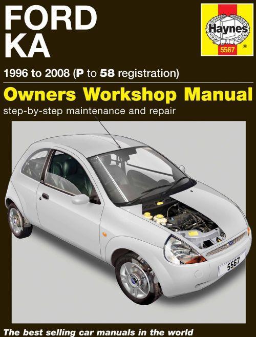 Ford Ka Repair Manual Haynes 1996 - 2008 New