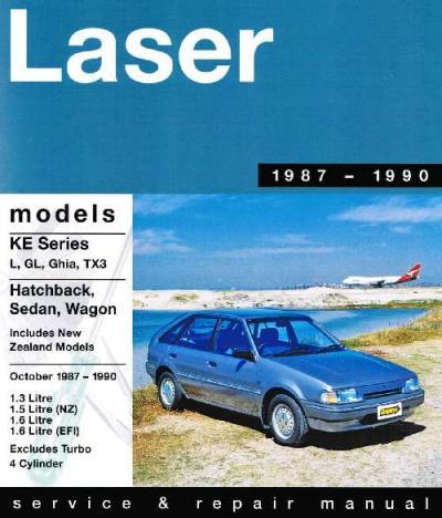 ford laser kn workshop manual