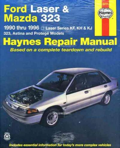 Ford Laser Mazda 323 1990 1996 Hayn13 med ford laser mazda 323 1990 1996 haynes repair manual sagin  at bakdesigns.co