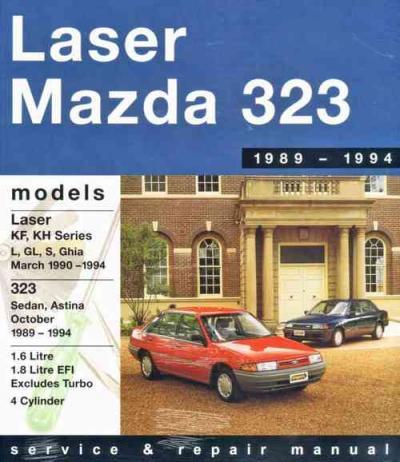 ford laser mazda 323 astina 1989 1994 gregorys service. Black Bedroom Furniture Sets. Home Design Ideas