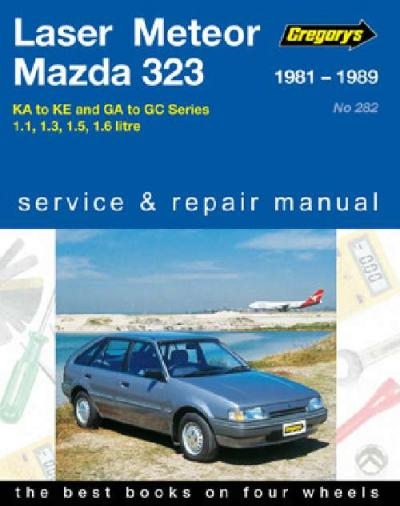 Ford Laser Meteor Mazda 323 1981 1989 Gregorys Service Repair Manual