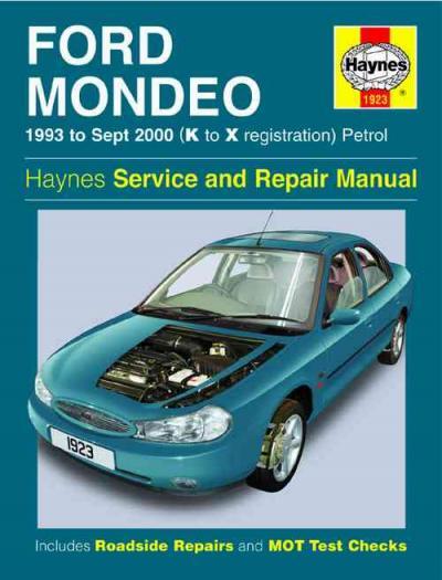 Ford Mondeo Diesel Workshop Manual Download