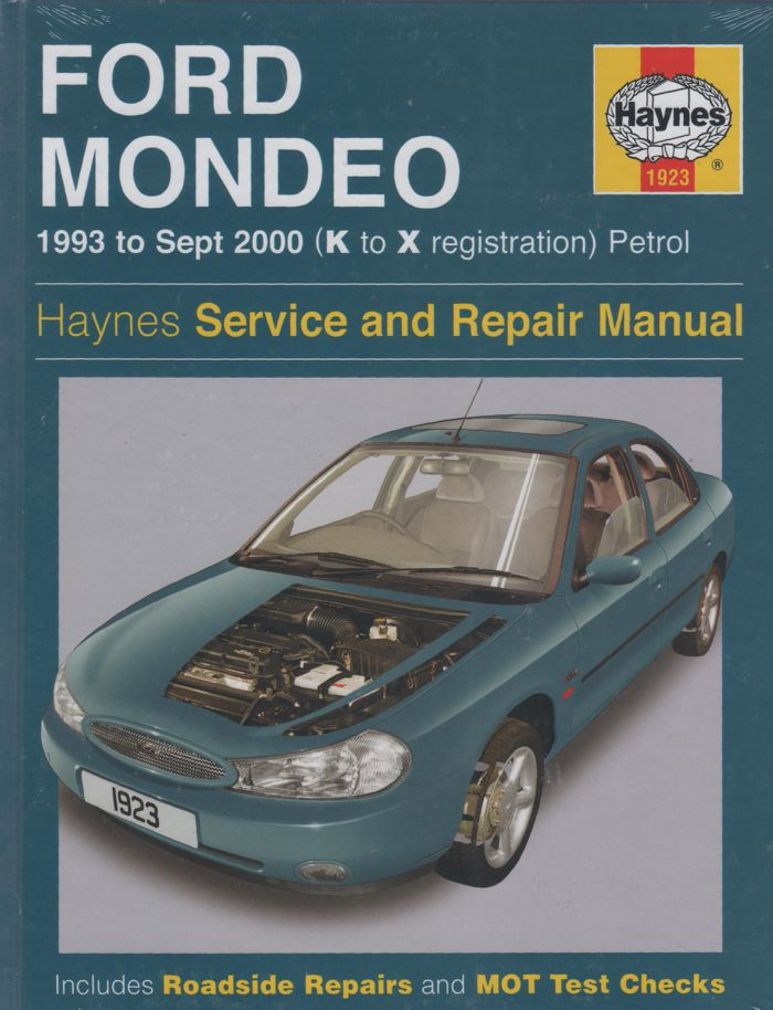 Ford Mondeo Repair Manual Haynes 1993 2000 New Sagin border=