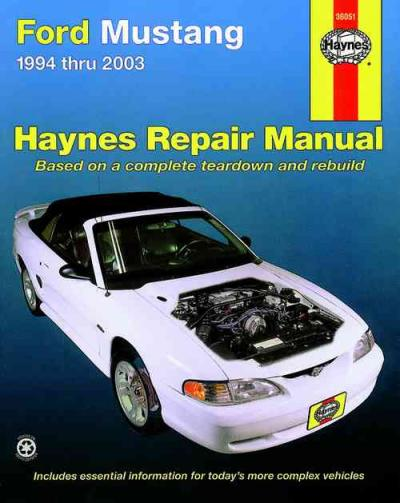ford mustang   haynes service repair manual