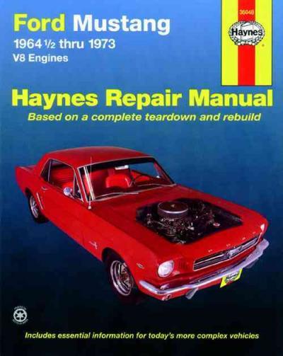 ford mustang v8 1964 1973 haynes service repair manual. Black Bedroom Furniture Sets. Home Design Ideas
