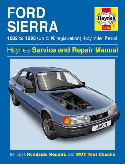 ford sierra  cylinder petrol   haynes service