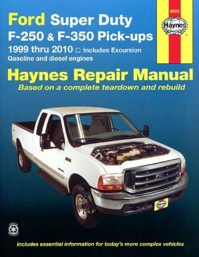 Ford Super Duty F-250 F-350 Pick ups 1999-2010
