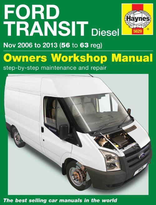 ford transit diesel 2006 2013 haynes service repair manual. Black Bedroom Furniture Sets. Home Design Ideas