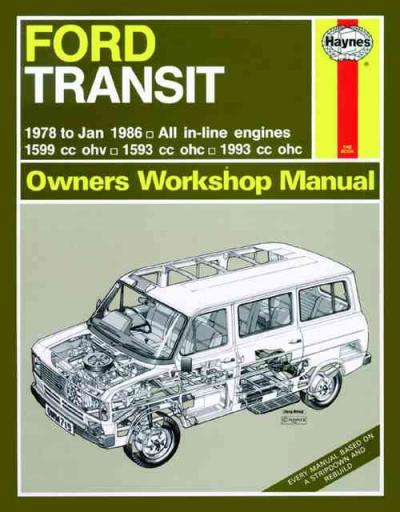Ford Transit Petrol Mk2 1978 1986 Haynes Service Repair Manual