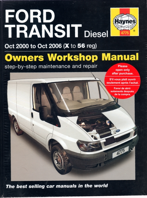 Ford Transit Diesel 2000-2006 Haynes Service Repair Manual