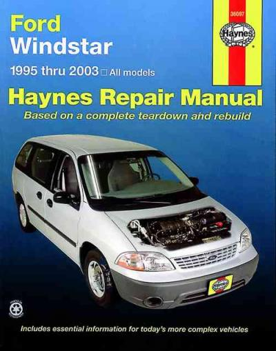 ford windstar 1995 2003 haynes service repair manual. Black Bedroom Furniture Sets. Home Design Ideas