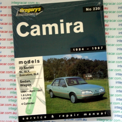 Holden Camira JD repair manual 1984-1985