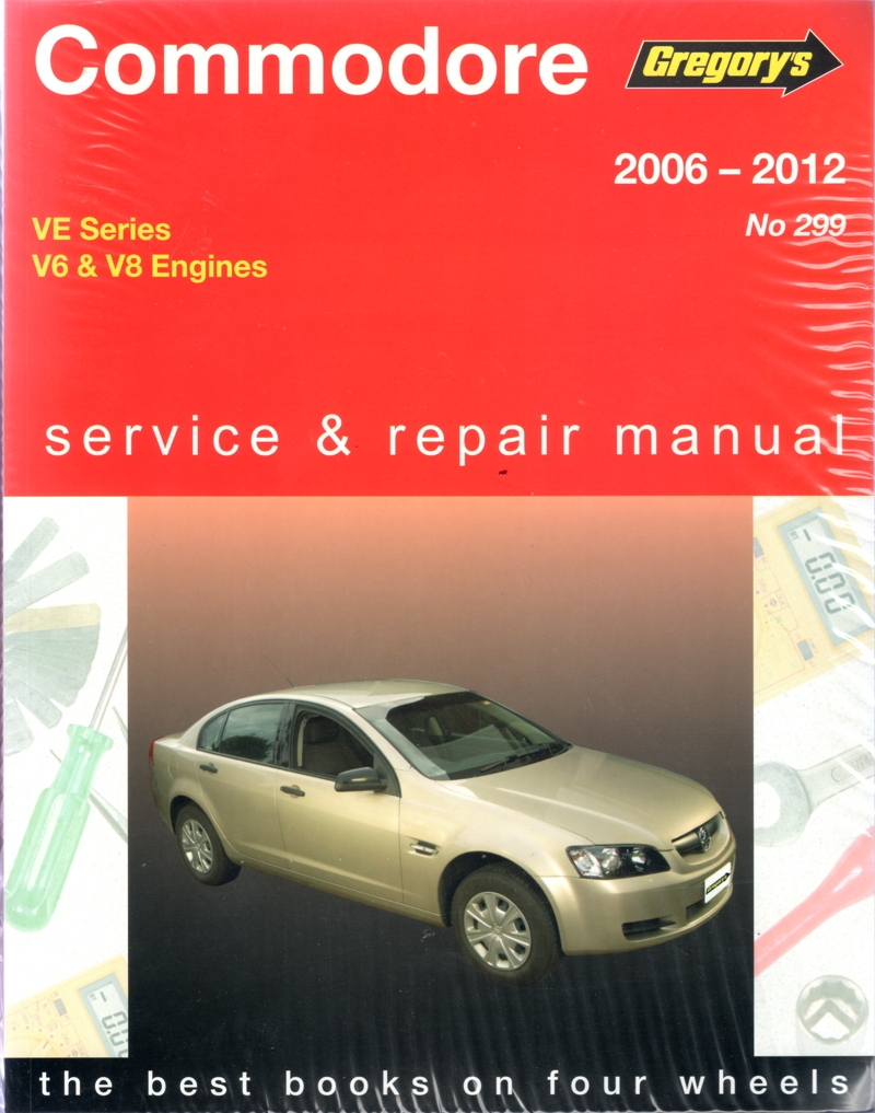 holden commodore ve series 2006 2012 gregorys workshop repair manual rh workshoprepairmanual com au Service Station Parts Manual
