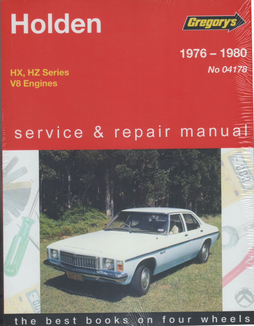 Holden HX HZ 8 cyl 1976-1980 Gregorys Service Repair Manual