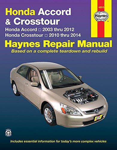 Honda Accord 2003-2014 Haynes Service Repair Manual